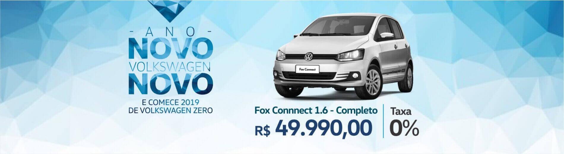 ANO NOVO VW NOVO - Volkswagen Fox Connect 1.6 MSI