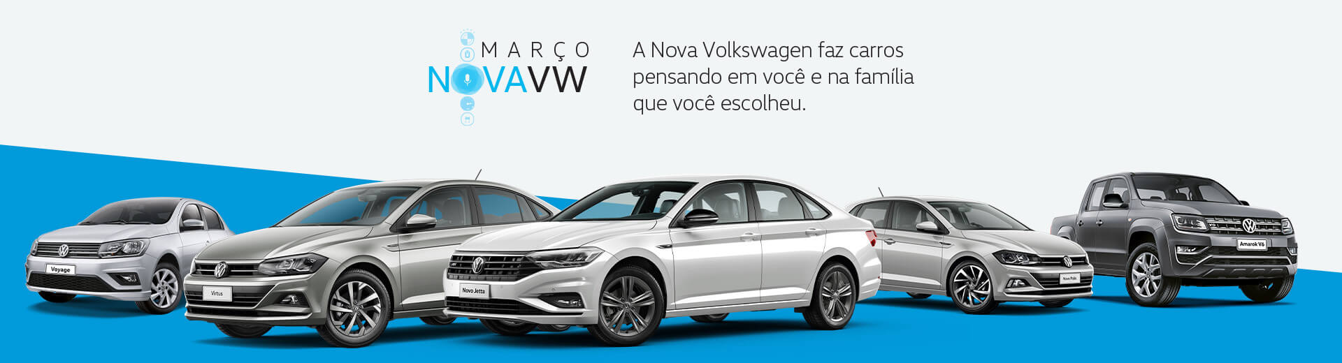 Março Nova VW!