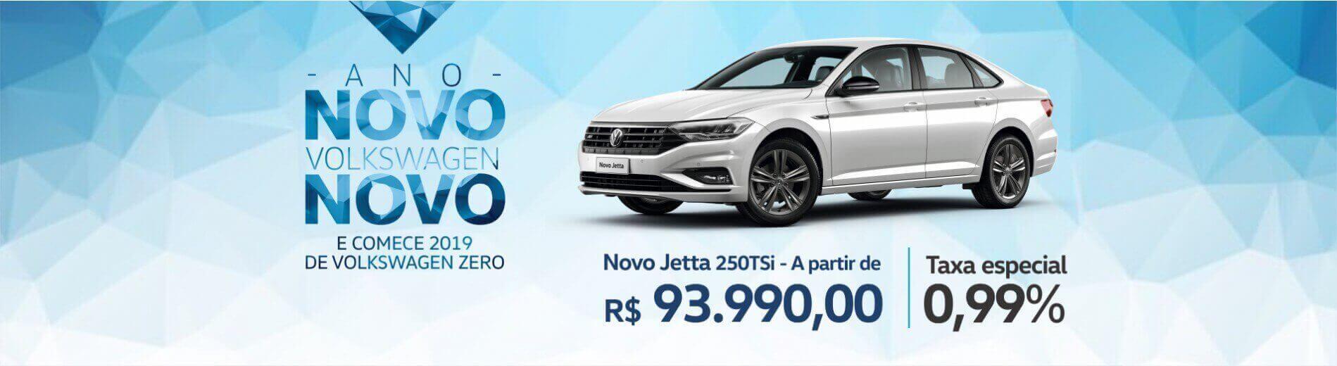 ANO NOVO VW NOVO - Volkswagen Jetta 1.4 TSI