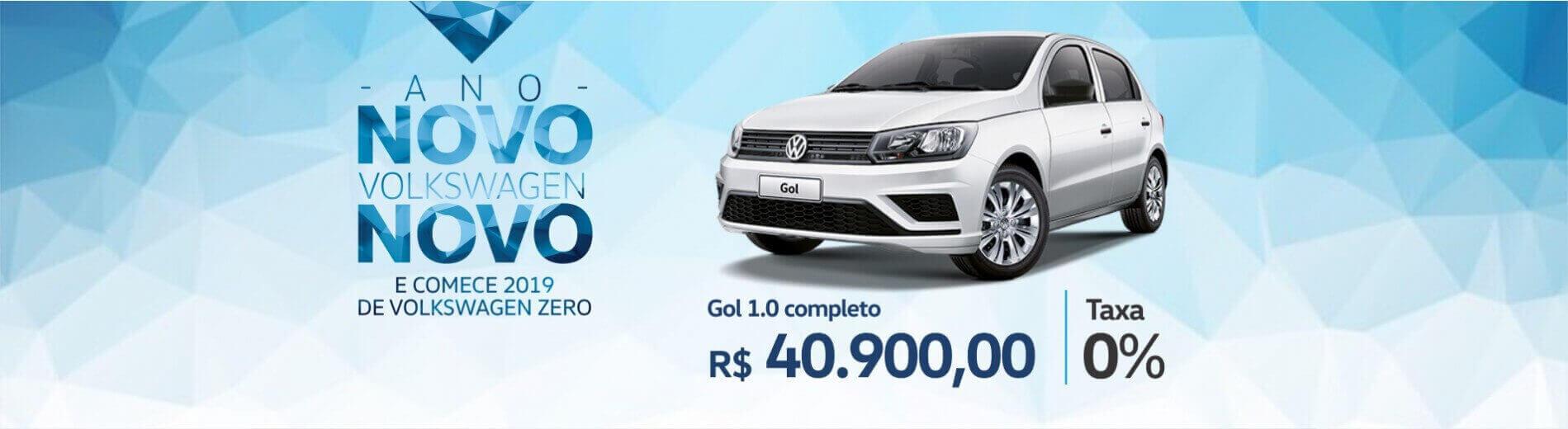 ANO NOVO VW NOVO - Volkswagen Gol 1.0 MSI Completo